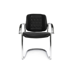 AluMedic Ltd. S Comfort Visit | Visitors chairs / Side chairs | Wagner