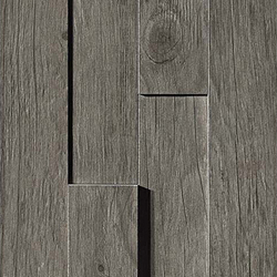 Axi Grey Timber Brick 3D | Carrelage céramique | Atlas Concorde