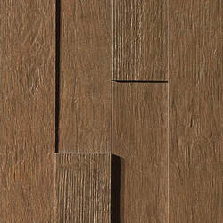 Axi Dark Oak Brick 3D | Ceramic tiles | Atlas Concorde