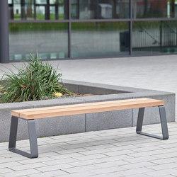 Campus levis Stoolbench 39 cm | Exterior benches | Westeifel Werke