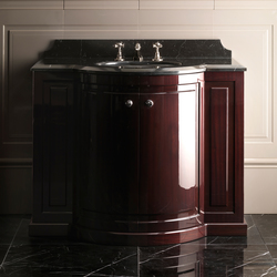 Clarence Mahogany Vanity unit | Wash basins | Devon&Devon