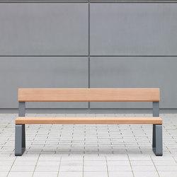 Campus levis Bench | Exterior benches | Westeifel Werke