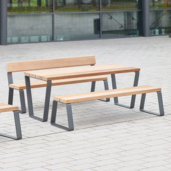 Campus levis table | Benches with tables | Westeifel Werke