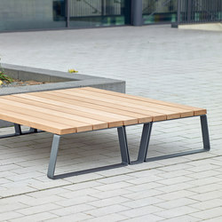 Campus levis set d'assise | Bancs avec tables | Westeifel Werke