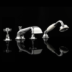 Coventry 4 hole bath set | Bath taps | Devon&Devon