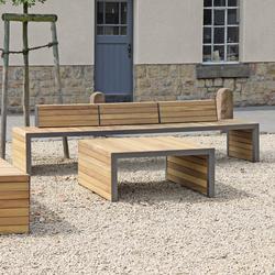 Linares Bench 300 depth 80 cm | Bancos | Westeifel Werke