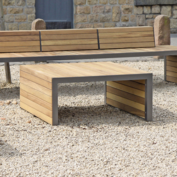 Linares Stool|Table 110 | Exterior benches | Westeifel Werke