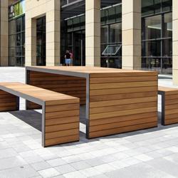 Linares de westeifel werke banc 200 profondeur 80 cm for Table exterieur largeur 60