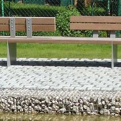 Tecto Bench with partial backrest opposite bilateral | Bancos | Westeifel Werke