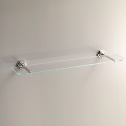 Jubilee Glass shelf with border | Shelves | Devon&Devon