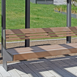 Versio juno Bench with seat SMALL | Benches | Westeifel Werke