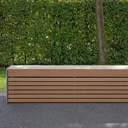 Versio corpus 50 Stoolbench, seat SMALL | Exterior benches | Westeifel Werke