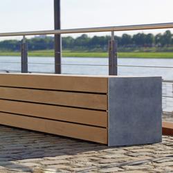 Versio corpus 50 Stoolbench, seat MEDIUM | Exterior benches | Westeifel Werke