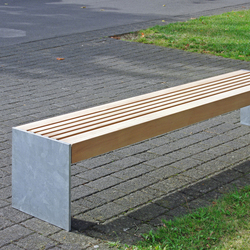 Versio levis 50 Stoolbench, seat SMALL | Exterior benches | Westeifel Werke