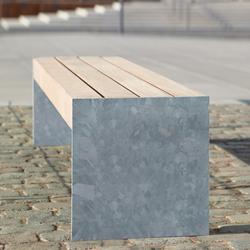 Versio levis 50 Stoolbench, seat MEDIUM | Exterior benches | Westeifel Werke