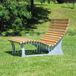 Rheinland Sun lounger 120 cm | Benches | Westeifel Werke