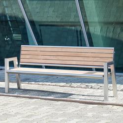 Quater V2A Bench | Exterior benches | Westeifel Werke