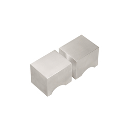 SQUARE LSQ51G | Knob handles for glass doors | Formani