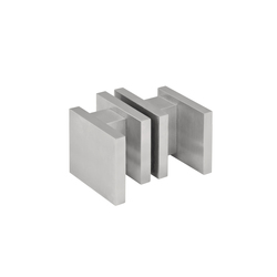 SQUARE LSQ60G | Knob handles for glass doors | Formani
