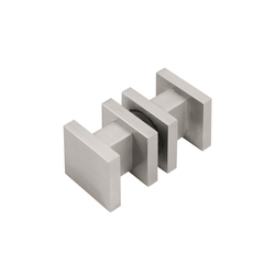 SQUARE LSQ61G | Knob handles for glass doors | Formani
