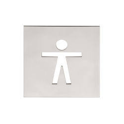 SQUARE LSQP100D | Toilet signs | Formani