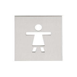 SQUARE LSQP100E | Toilet signs | Formani