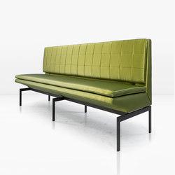 Mancini Banquette | Waiting area benches | Khouri Guzman Bunce Lininger