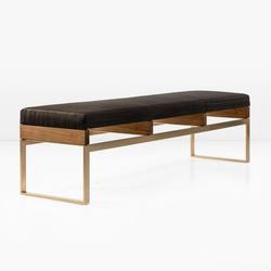 Maxim Bench | Upholstered benches | Khouri Guzman Bunce Lininger