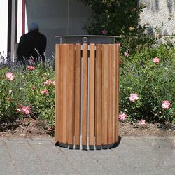 Urbanis Litter bin round 50 l | Exterior bins | Westeifel Werke