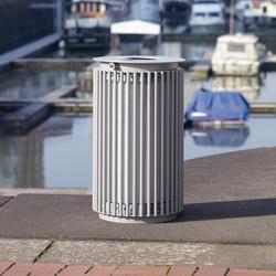 Urbanis Litter bin round 75 l | Cubos basura / Papeleras | Westeifel Werke