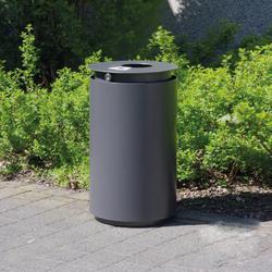 Urbanis Litter bin round 50 l | Cubos basura / Papeleras | Westeifel Werke