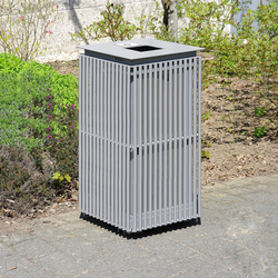 Urbanis Litter bin square 50 l | Cubos basura / Papeleras | Westeifel Werke
