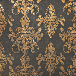 Ewall Moka Gold Damask | Ceramic tiles | Atlas Concorde