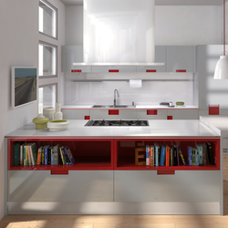 Carré | Fitted kitchens | Ernestomeda