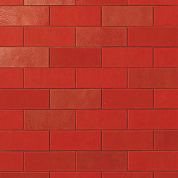Ewall Red Minibrick | Azulejos de pared | Atlas Concorde