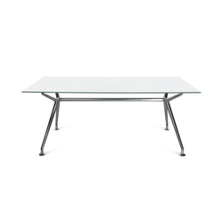 W-Table Work Mystic White | Desks | Wagner