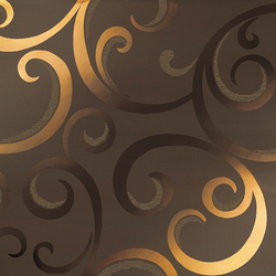 Mark Moka Gold Damask | Wall tiles | Atlas Concorde