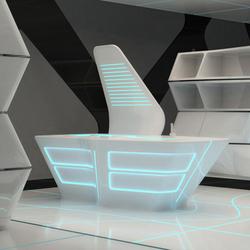 Tron designs Corian® | Cucine a parete | Ernestomeda