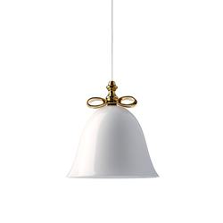 Bell Lamp White Big | Suspensions | moooi