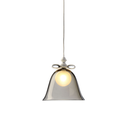 Bell Lamp Smoke Small | Suspensions | moooi
