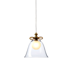 Bell Lamp Transparent Small | Suspensions | moooi