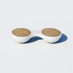 Yacht Bench 2 Seater | Bancos de jardín | Jangir Maddadi Design Bureau