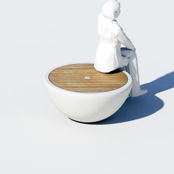 Yacht Bench 1 Seater | Bancos de jardín | Jangir Maddadi Design Bureau