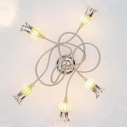 Poppy  Ceiling with 5 Arms | Illuminazione generale | serien.lighting
