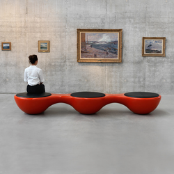 Union Bench Panorama | Waiting area benches | Jangir Maddadi Design Bureau