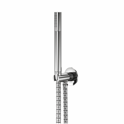 100 1670 Hand shower set with integrated wall elbow 1/2"