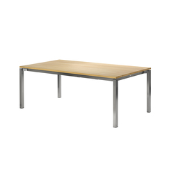 Modena front slide extension table | Tables de repas | Fischer Möbel