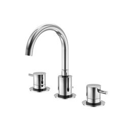 100 2000 3-hole basin mixer | Wash basin taps | Steinberg