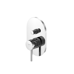 100 2103 Finish set for single lever bath/shower mixer with diverter | Shower controls | Steinberg