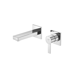 120 1801 Wall mounted single lever basin mixer | Wash basin taps | Steinberg